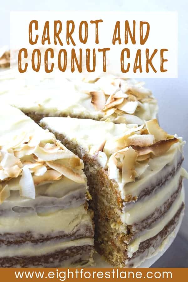Carrot & Coconut Layer Cake