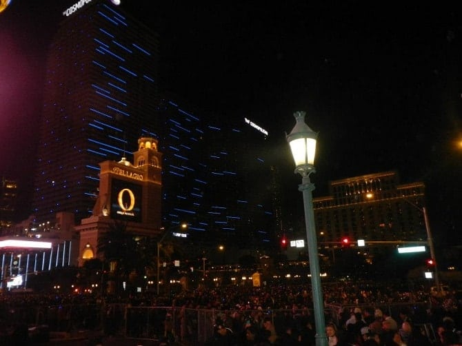 The Strip New YEars Eve