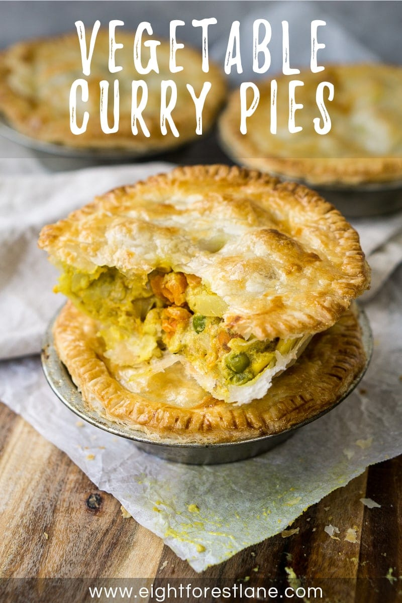 Vegetable Curry Pies - Pinterest