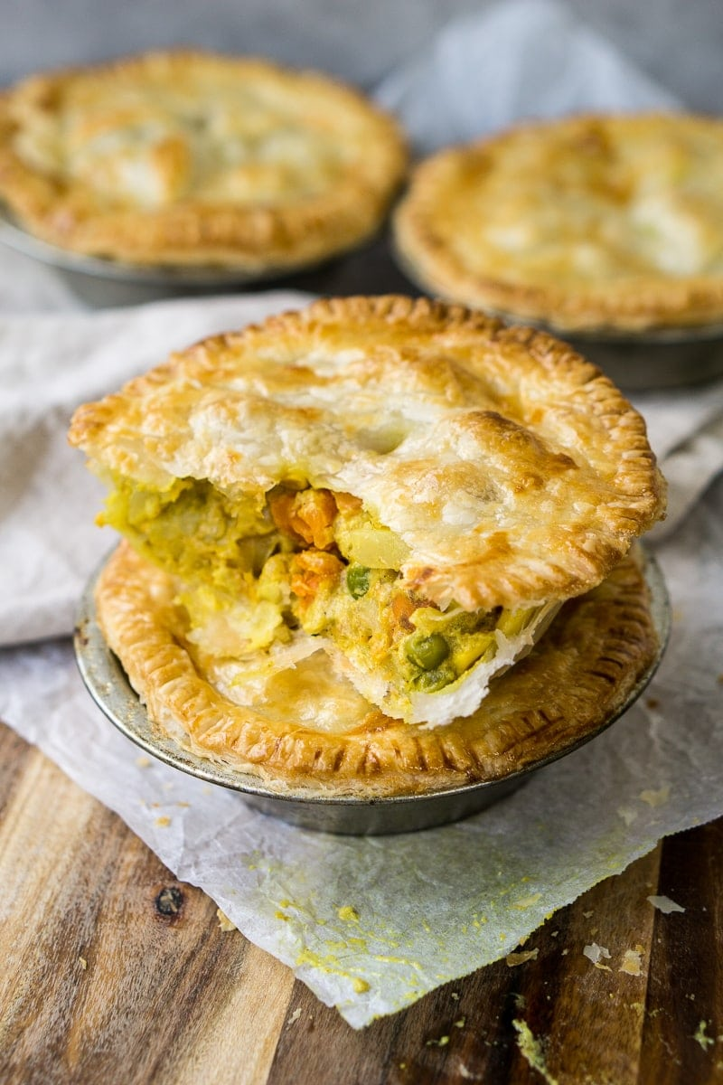 Vegetable Curry Pies