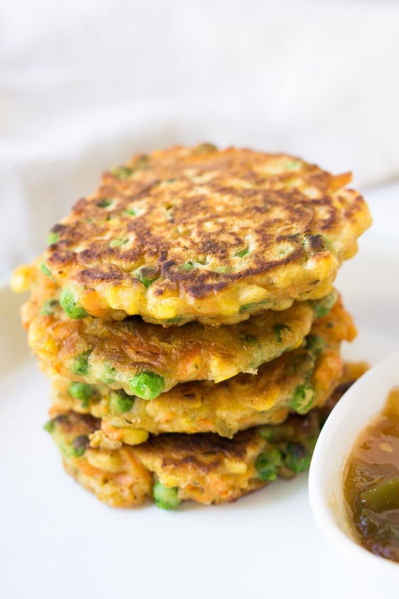 Crispy Vegetable Fritters
